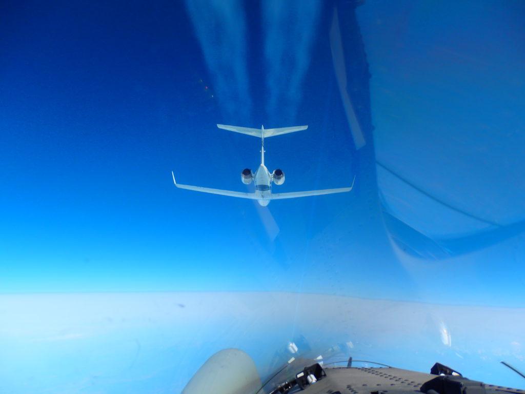 Aeronautica Militare intercetta velivolo civile