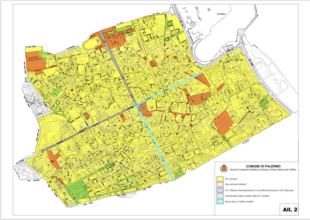 Pedonalizzazione Cassaro e Via Maqueda alta