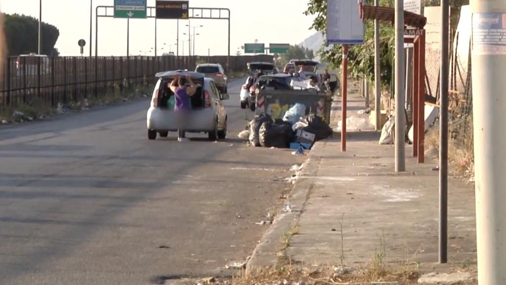 Abbandono rifiuti illecito a Palermo