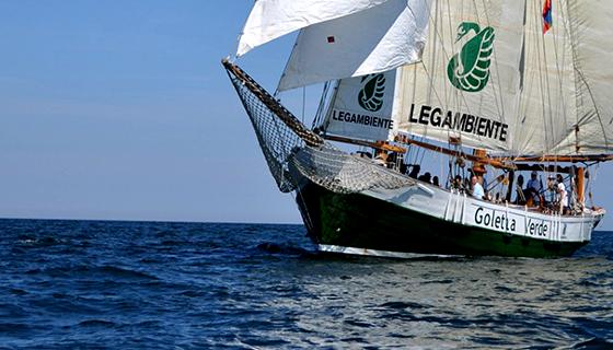 Goletta Verde Legambiente in Sicilia