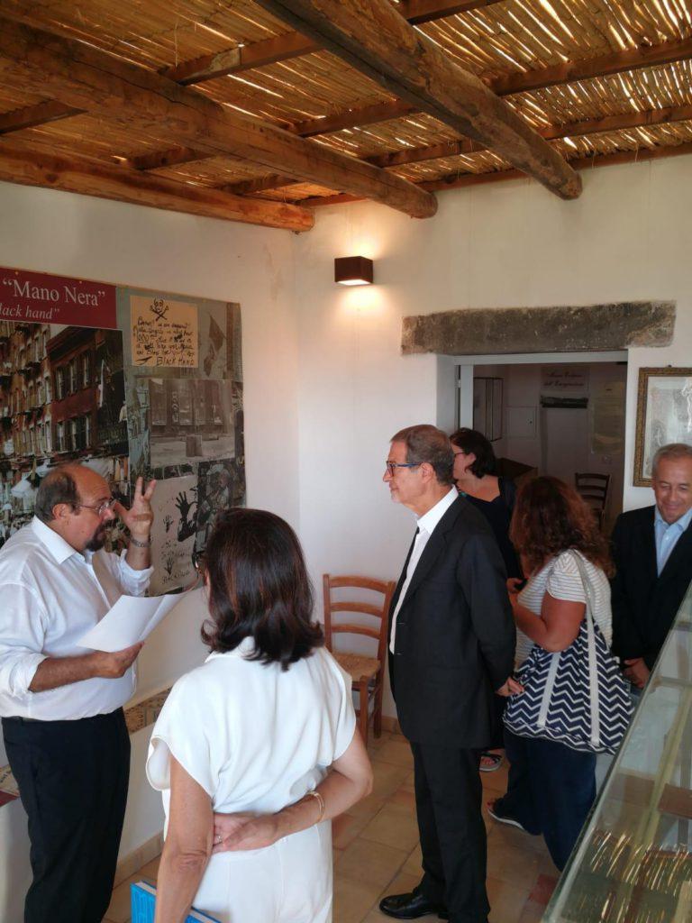 Musumeci visita Salina