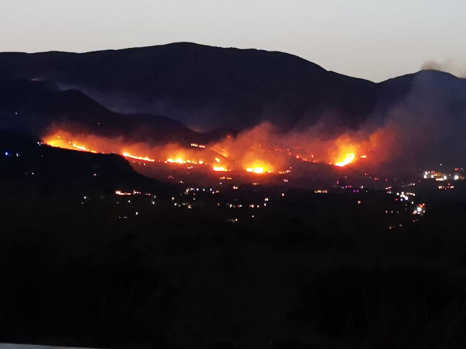 Incendi a Palermo