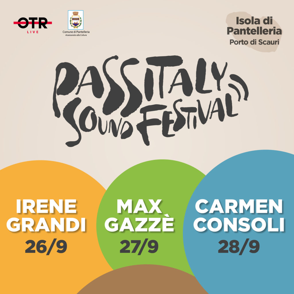 Passitaly Sound Festival Pantelleria