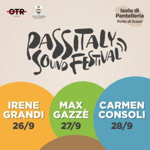 Passitaly Sound Festival Pantelleria: Consoli, Gazzè e Irene Grandi