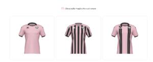 Kappa nuovo sponsor del Palermo: nuove maglie scelte dai tifosi