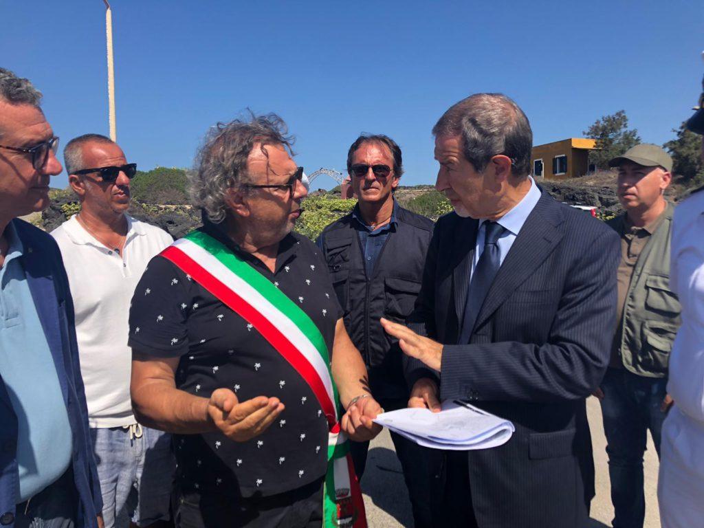 Musumeci visita Linosa