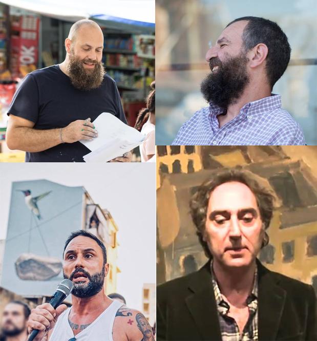 Murales a Terrasini, 4 grandi artisti realizzano 4 grandi opere d'arte