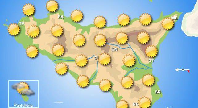 Meteo martedì 27 agosto Sicilia
