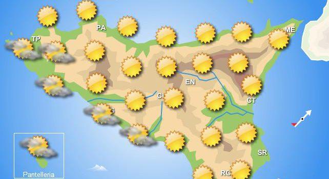 Meteo mercoledì 7 agosto Sicilia