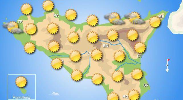 Meteo Weekend Sicilia