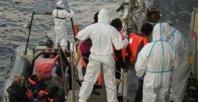Ocean Viking verso Lampedusa.