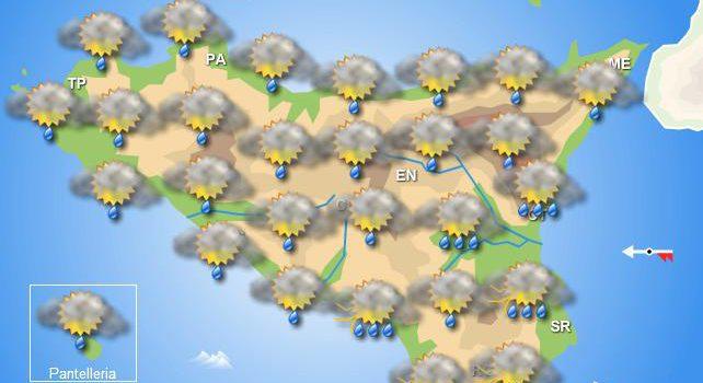 Meteo mercoledì 11 settembre Sicilia