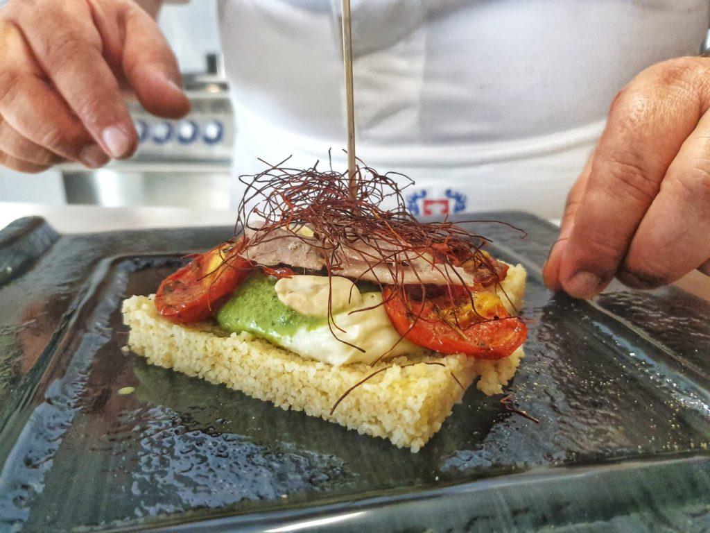 Lo chef Arena