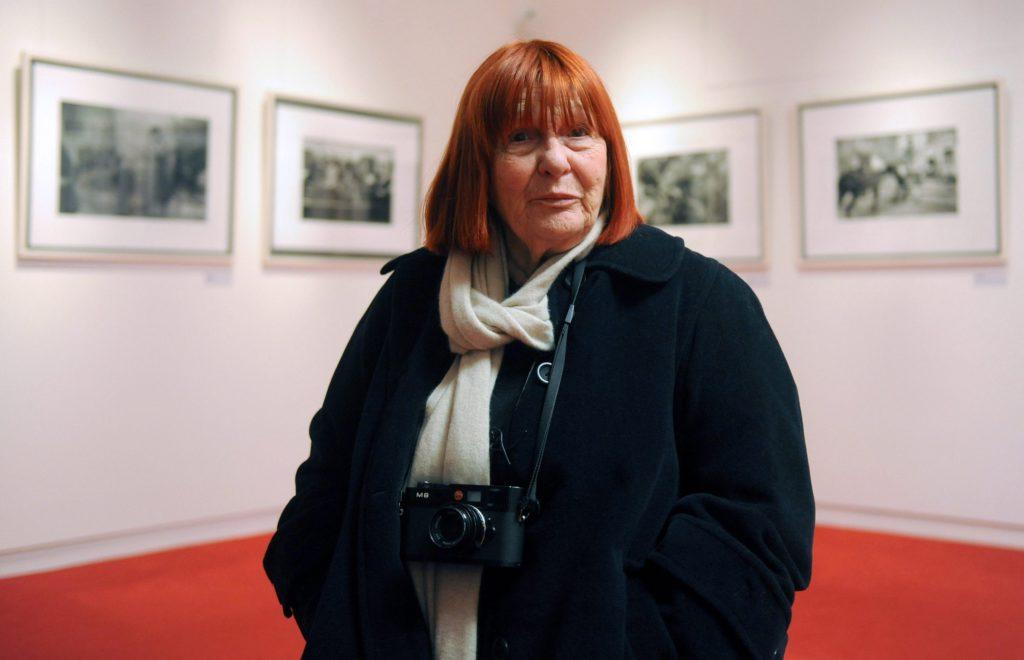 Letizia Battaglia al World Press Photo. Una donna tra tanti colleghi uomini. Un gigante della fotografia ma anche del giornalismo italiano in mezzo alle fotografie più belle del mondo.