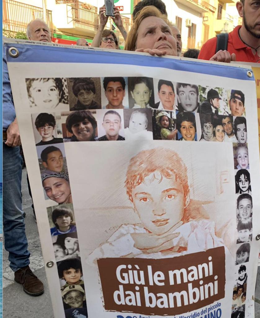 Bambini uccisi dalla mafia