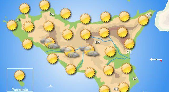 Meteo giovedì 12 settembre Sicilia