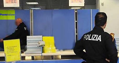 Minaccia con acido in ufficio Postale