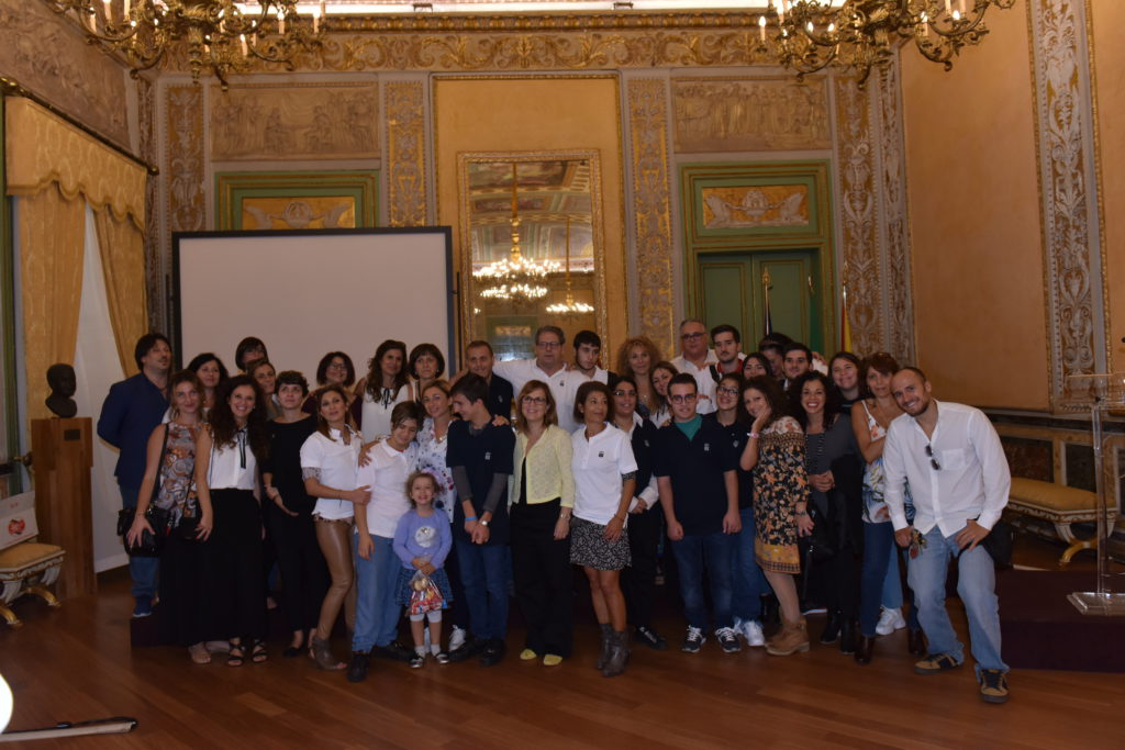 Bambini autistici visitano Palazzo Reale