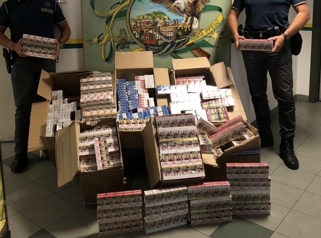 Contrabbando di sigarette a Palermo