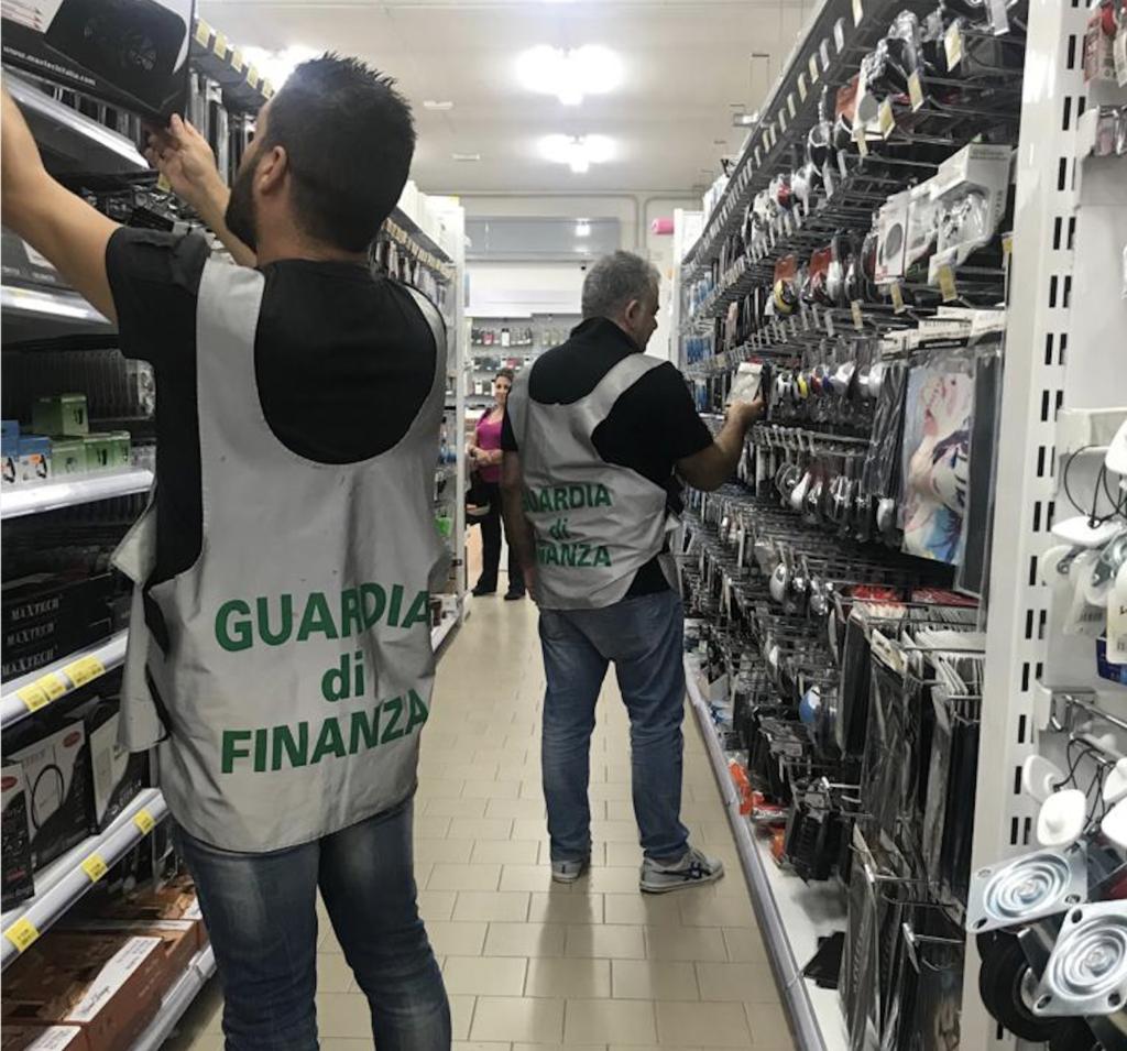 Sequestro prodotti cinesi