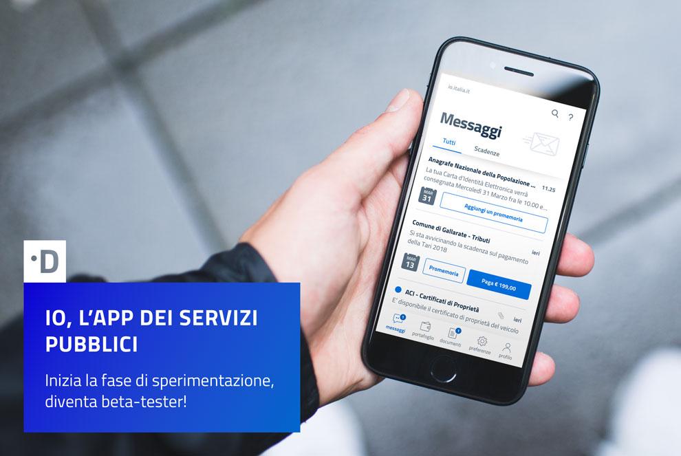 App dei servizi pubblici