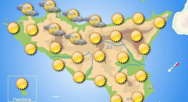 Meteo venerdì 11 ottobre Sicilia