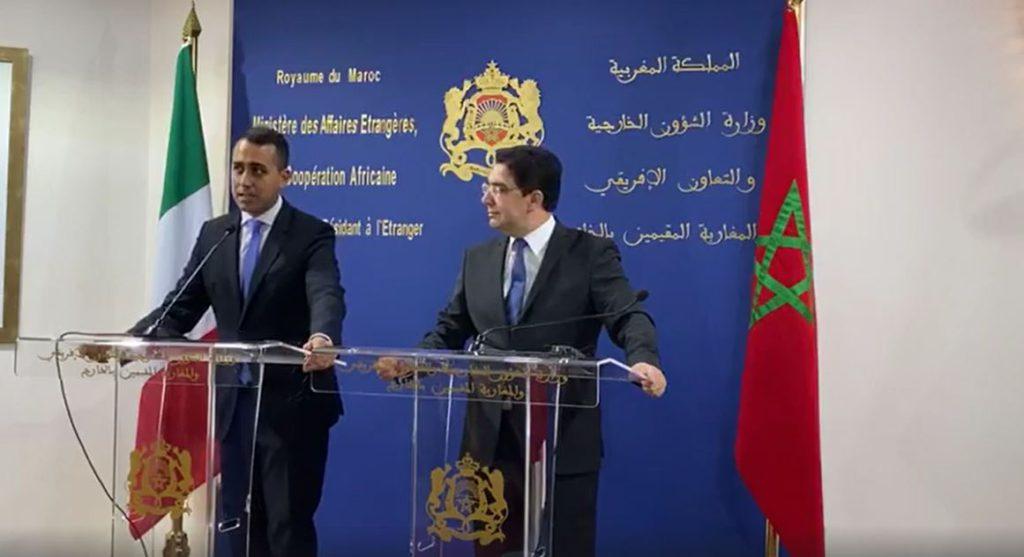 Di Maio in visita in Marocco
