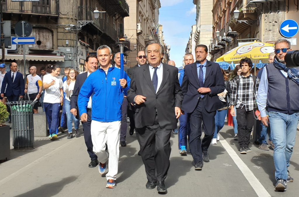 Al via la Palermo Peace Run