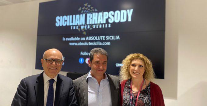 Sicilian Rhapsody all'aeroporto di Palermo