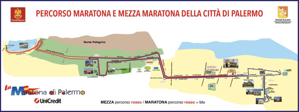 Maratona di Palermo domenica