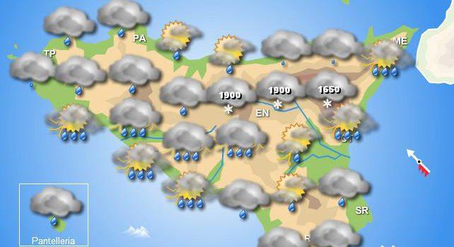 Meteo martedì 12 novembre Sicilia