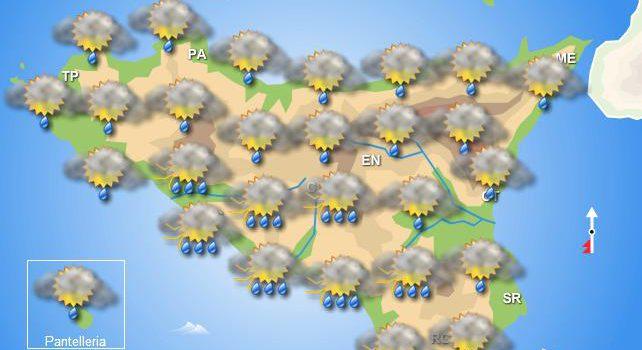 Meteo martedì 19 novembre Sicilia