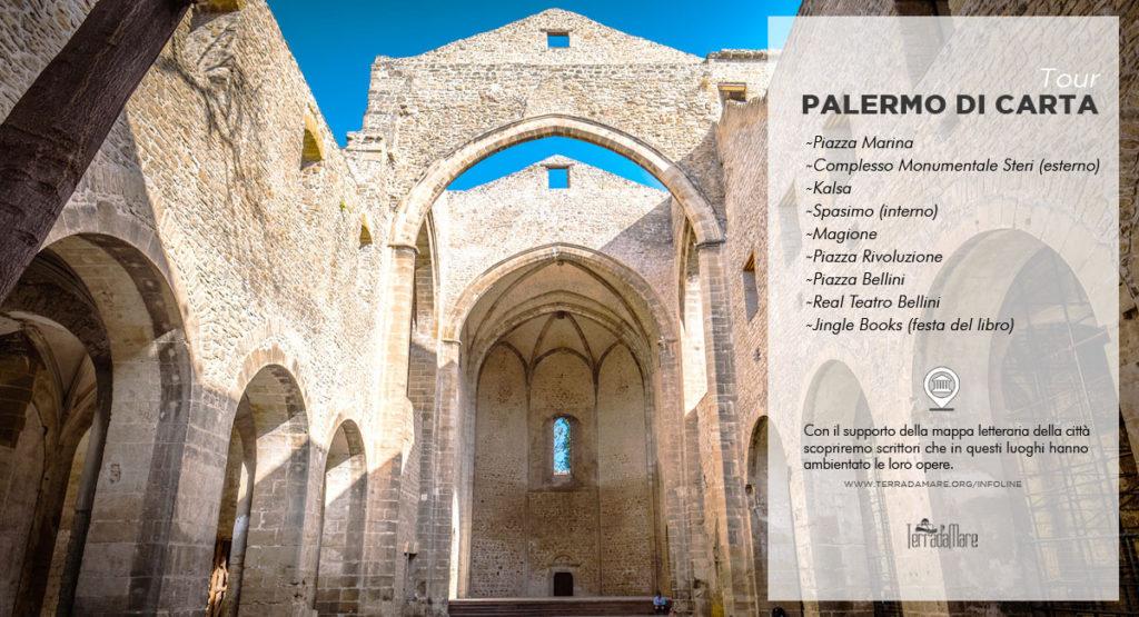 Passeggiata letteraria Palermo di carta