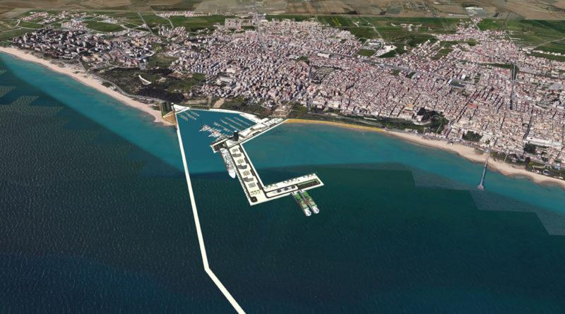Nuovo porto di Gela