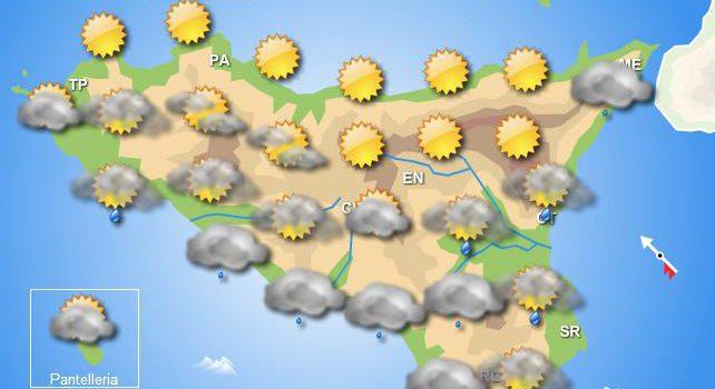 Meteo martedì 17 dicembre Sicilia