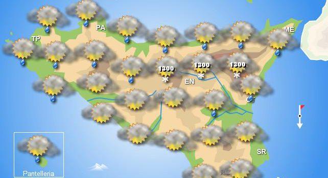 Meteo martedì 10 dicembre Sicilia