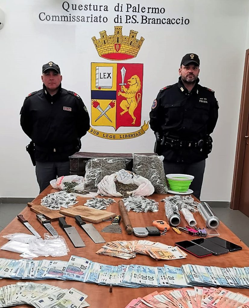 La Polizia scopre un laboratorio di droga