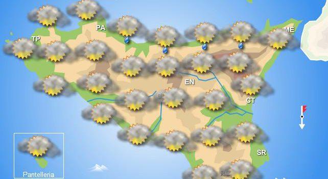 Meteo Sicilia venerdì 3 gennaio