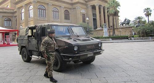 Coronavirus esercito in Sicilia
