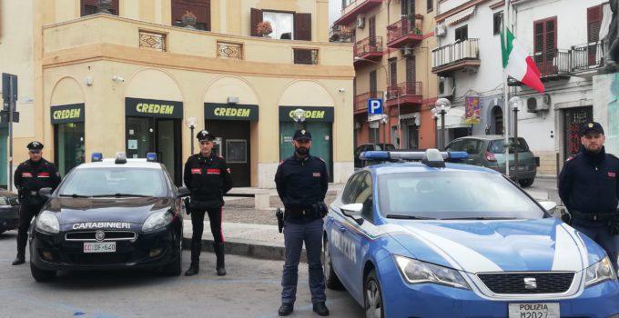 Tentata rapina in banca