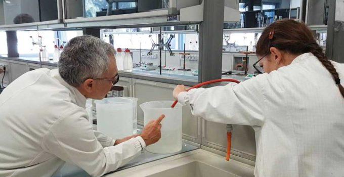 Gel igienizzante prodotto da UniCT
