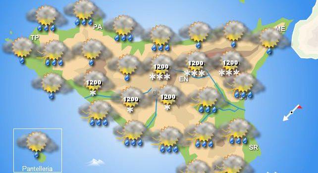 Meteo venerdì 27 marzo Sicilia