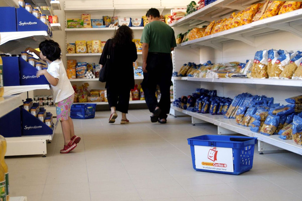 Aiuti alimentari Palermo