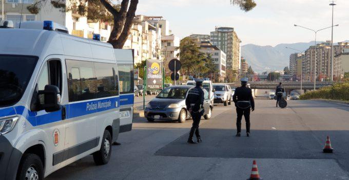 Posti di blocco circonvallazione Palermo
