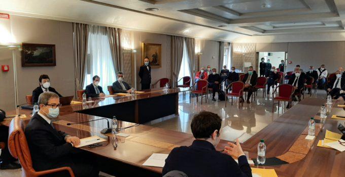Il presidente Musumeci incontra