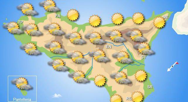 Meteo giovedì 16 aprile Sicilia
