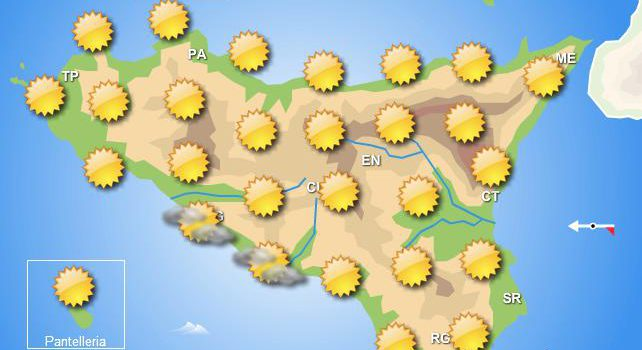 Meteo weekend 25-26 aprile Sicilia