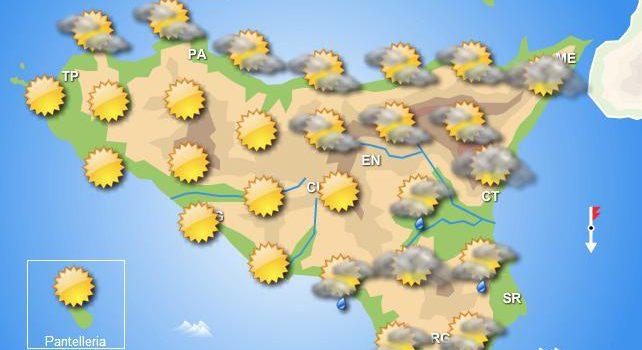 Meteo primo weekend aprile Sicilia