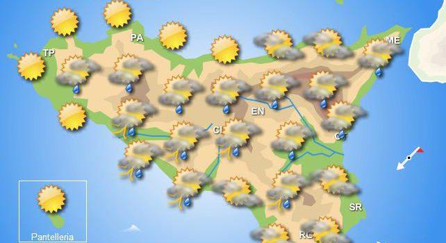 Meteo martedì 7 aprile Sicilia