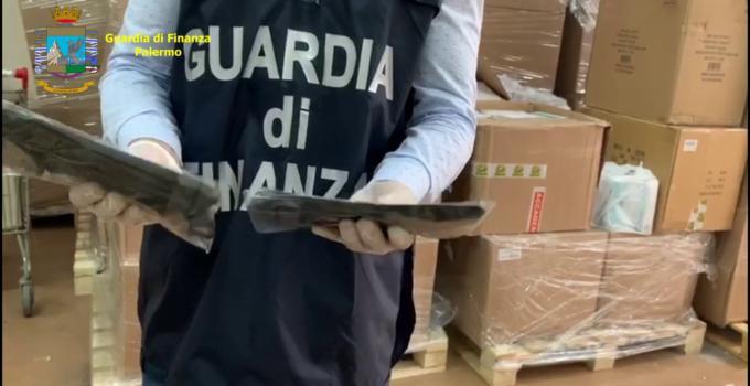 Sequestrate mascherine a Palermo